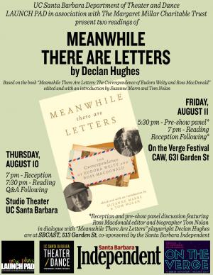Meanwhile There are Letters Poster