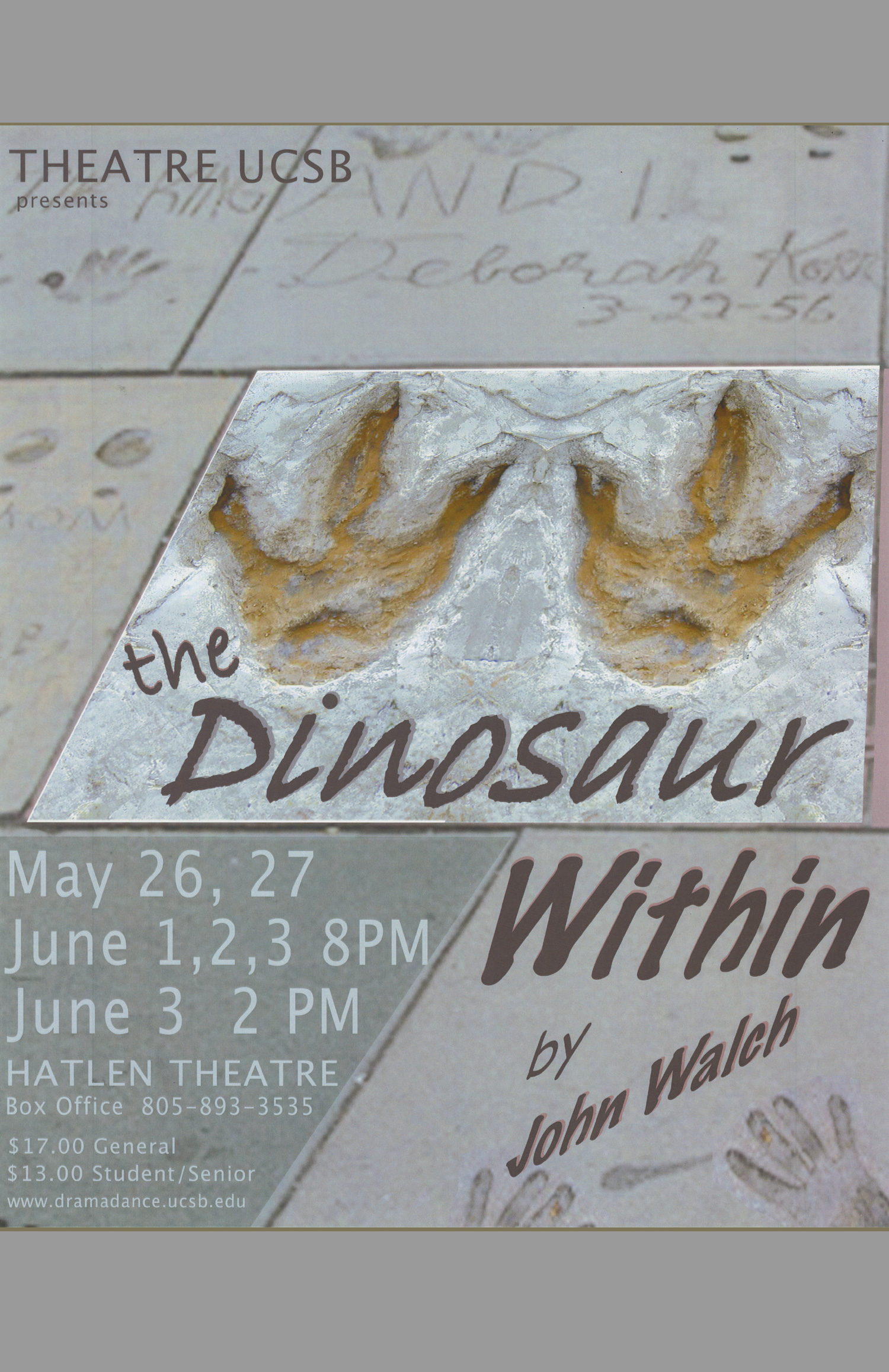 Dinosaur Within Poster