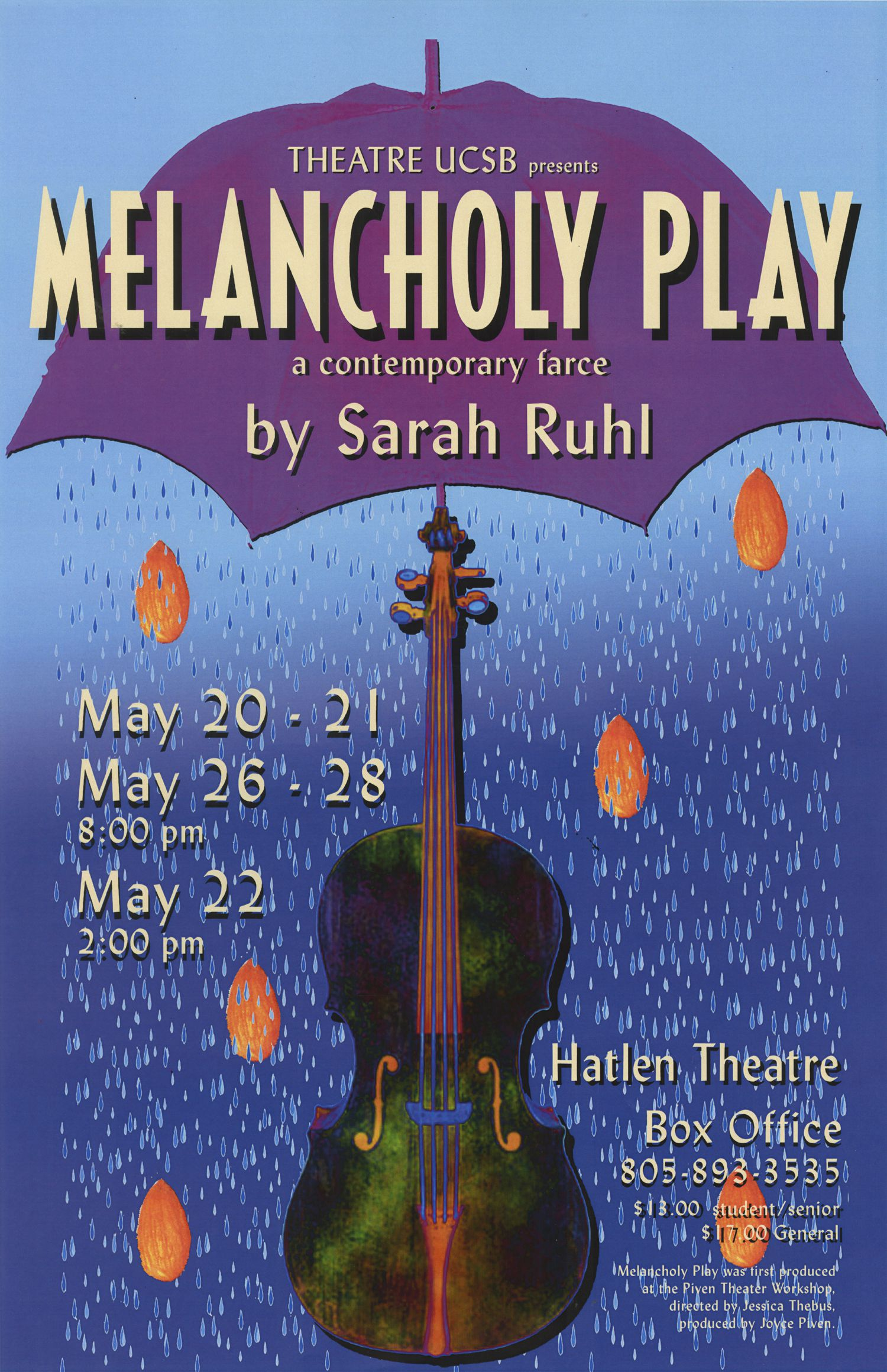 Melancholy Play Poster