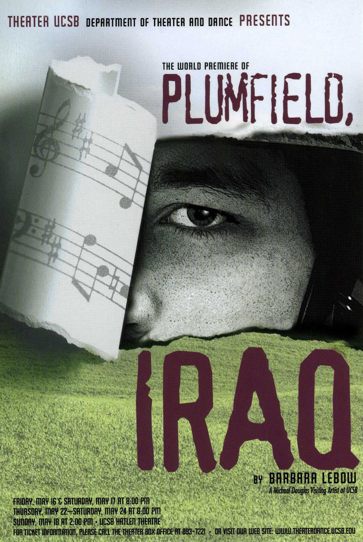 Plumfield Iraq Poster